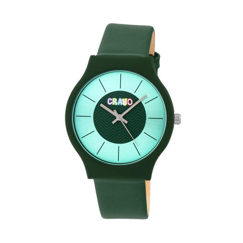 Crayo Trinity Strap Watch - Teal CRACR4404