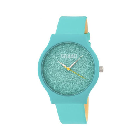 Crayo Glitter Strap Watch - Teal CRACR4504