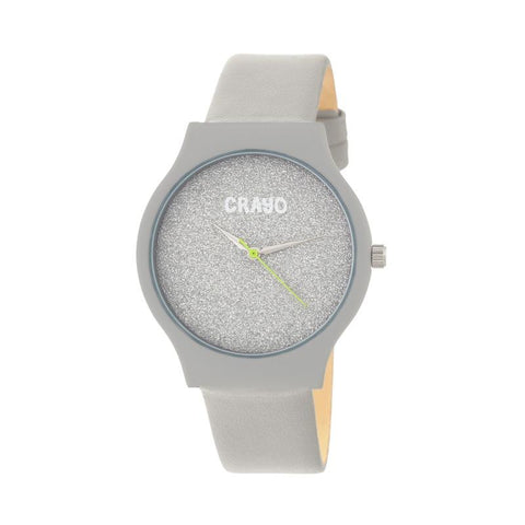 Crayo Glitter Strap Watch - Grey CRACR4506
