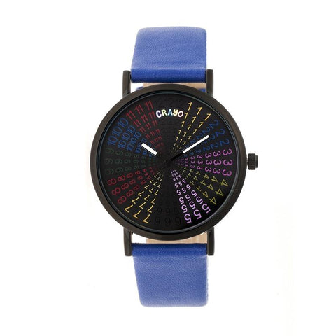 Crayo Fortune Strap Watch - Black/Navy CRACR4308