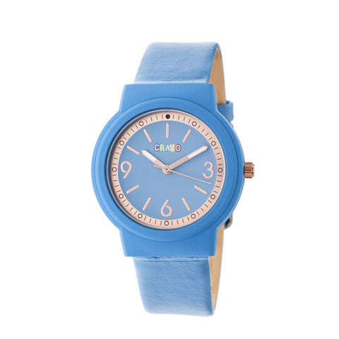 Crayo Vivid Strap Watch - Blue
