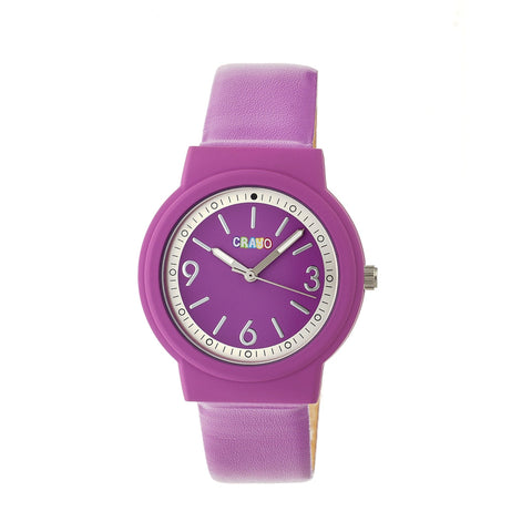 Crayo Vivid Strap Watch - Fuchsia CRACR4706