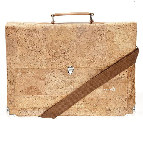 EARTH Cork Briefcases Faro Ck3001 ETHBCK3001