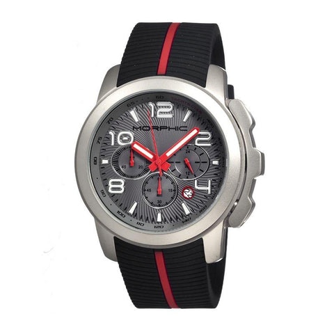 Morphic M22 Series Chronograph Men's Watch w/ Date - Silver/Grey MPH2203