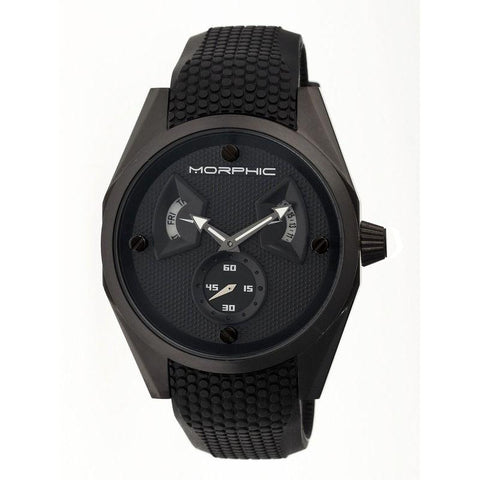 Morphic M34 Series Men's Watch w/ Day/Date - Black MPH3405