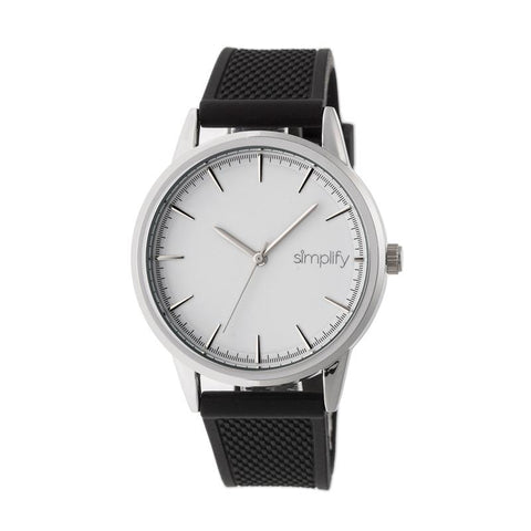 Simplify The 5200 Strap Watch - Silver SIM5201