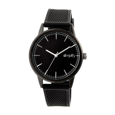 Simplify The 5200 Strap Watch - Black SIM5205