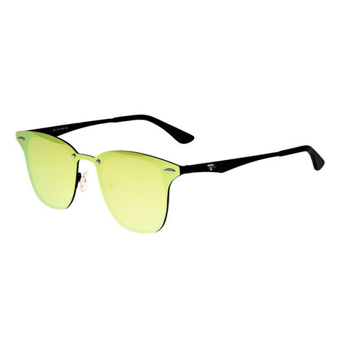 Sixty One Infinity Polarized Sunglasses - Black/Yellow-Green SIXS142YG