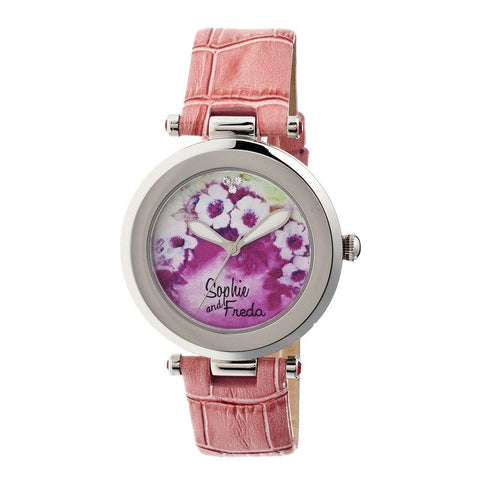 Sophie & Freda Versailles Ladies Watch - Coral SAFSF1502