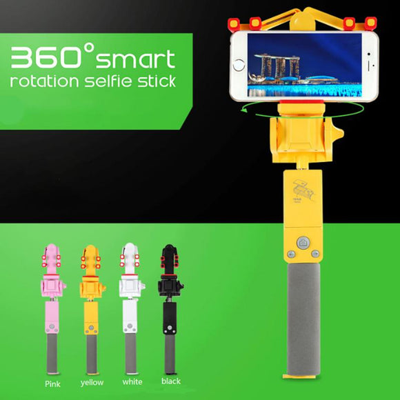 360 Degree Rotation Wireless Selfie Stick - Chilling Outdoors