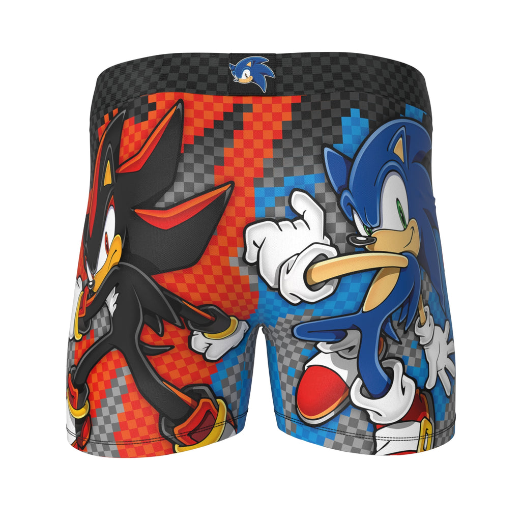 SONIC THE HEDGEHOG - SONIC VS SHADOW