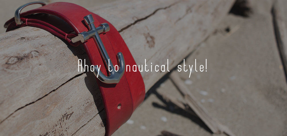 Ahoy to nautical style!