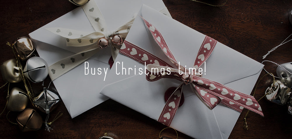 Busy Christmas time! Latest Recommended Posting Dates & Gift Card Offer