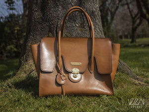 Big Leather bag | Handmade bag | Retro style bag
