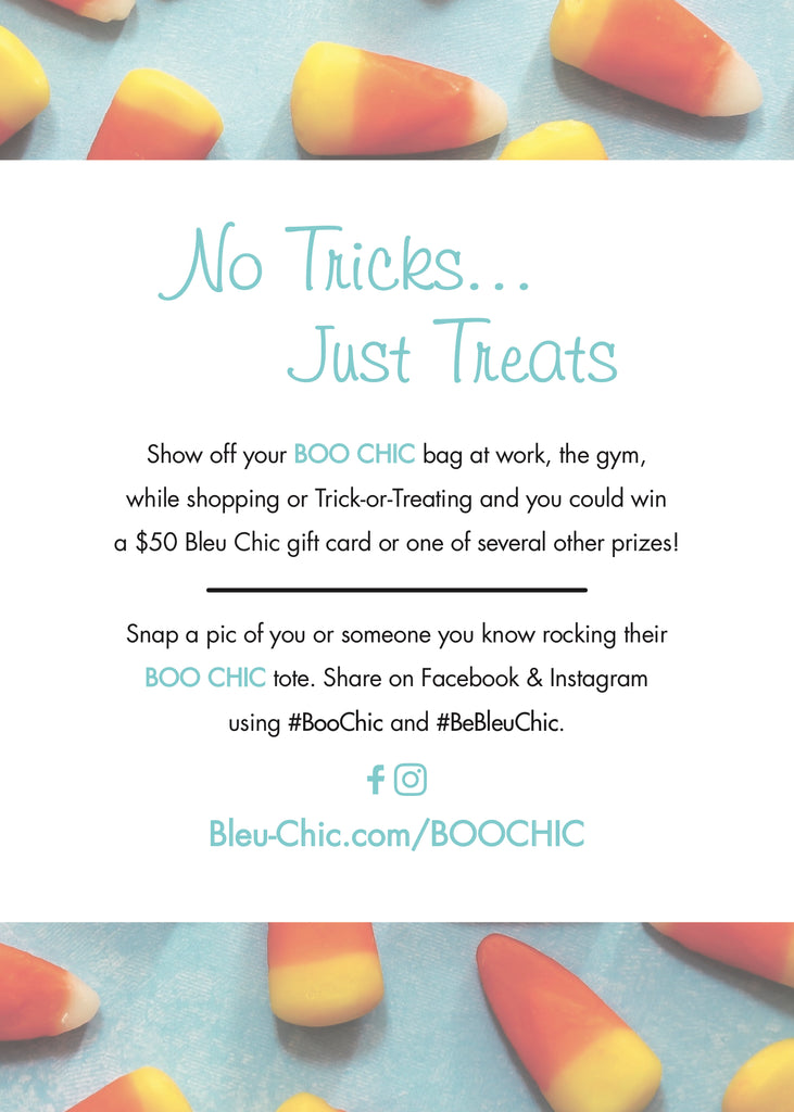 It's a BOO CHIC Halloween at Bleu Chic Boutique