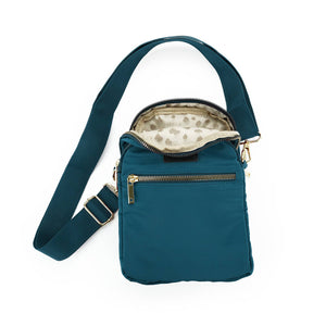 Kedzie Roundtrip Convertible Sling & Crossbody -Teal - Bleu Chic Boutique