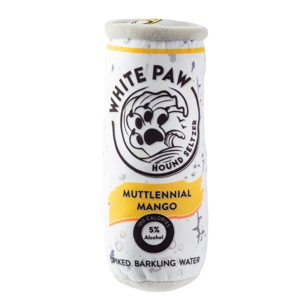 White Paw - Muttlennial Mango - Bleu Chic Boutique