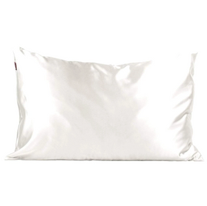 Ivory Satin Pillowcase - Bleu Chic Boutique