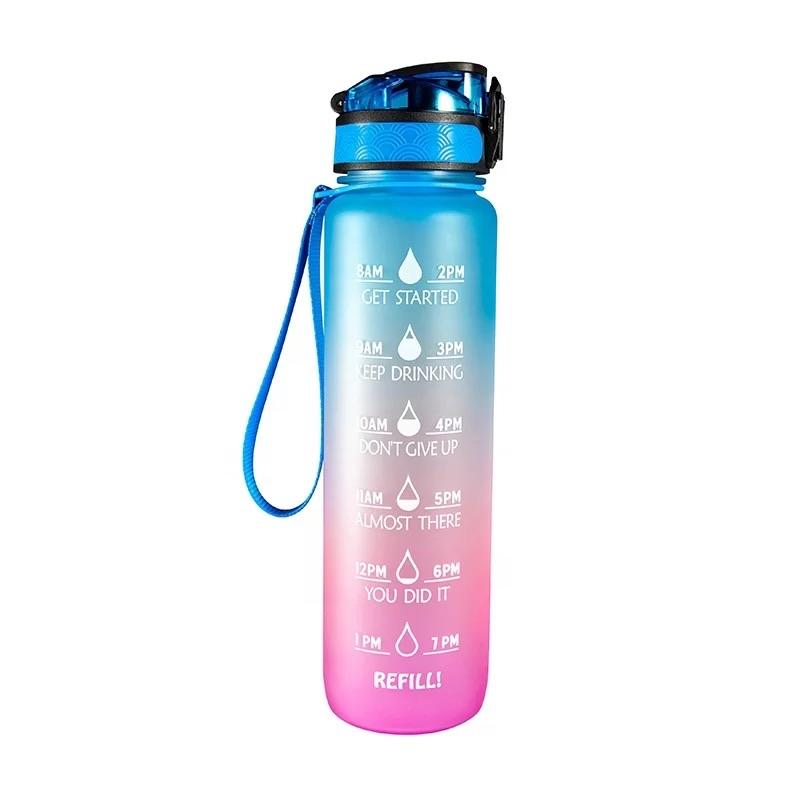 Motivational Water Bottle : Unicorn - Bleu Chic Boutique