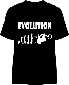 Skelebone Short Sleeve T-shirt, Evolution Front Print
