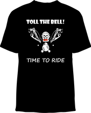 Skelebone Short Sleeve T-shirt, Toll The Bell Back Print Front Logo