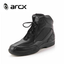 ARCX Motorcycle Boots Breathable Mesh Moto Motor Boots Riding Shoes Biker Shoes Motorbike Touring Ankle Boots L60449