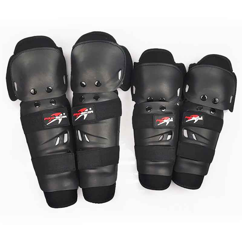 4PCS/SET PRO-BIKER Motorcycle Knee Pads Elbow Pads &Motocross Racing Knee Guards