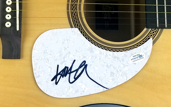 Willie Nelson Autographed Signed Acoustic Guitar ACOA