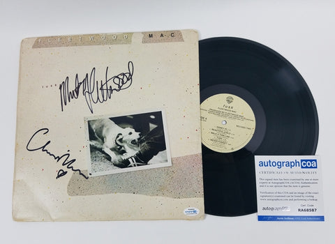 Fleetwood Mac Autographed x2 Signed Record Album LP