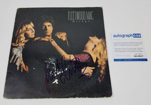 Fleetwood Mac Autographed x2 Signed Record Album LP Mirage
