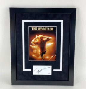 The Wrestler Mickey Rourke Autographed Signed 16x20 Framed Display