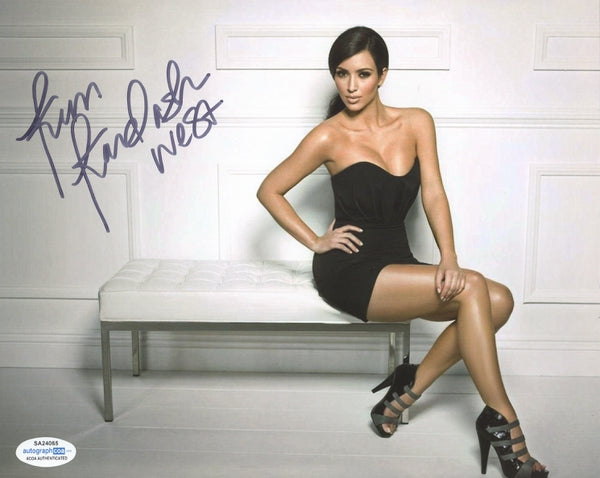 Kim Kardashian Autographed Signed 8x10 Photo Hot Sexy