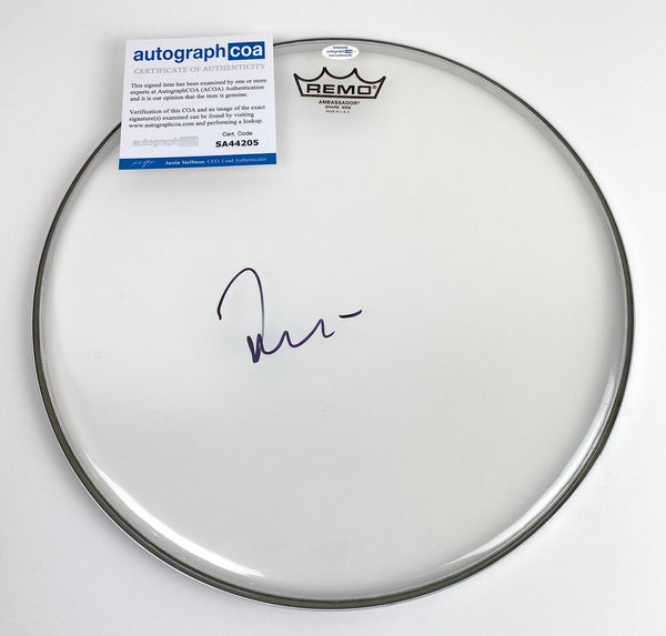 Foo Fighters Taylor Hawkins Autographed Signed Drumhead Drummer