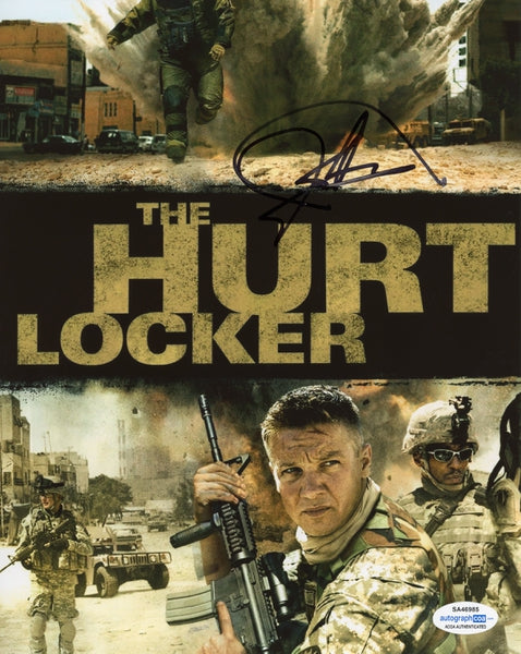 Jeremy Renner Autographed Signed 8x10 Photo The Hurt Locker Hawkeye