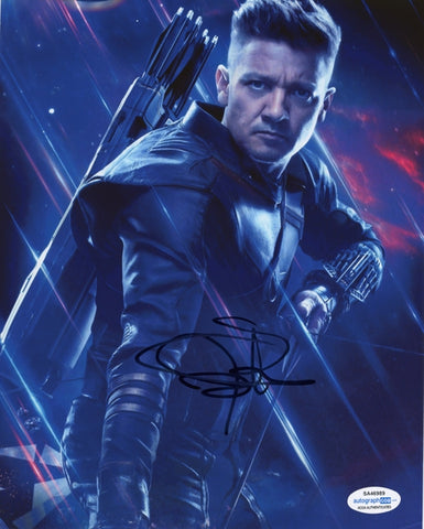 Jeremy Renner Autographed Signed 8x10 Photo Hawkeye The Avengers Marvel