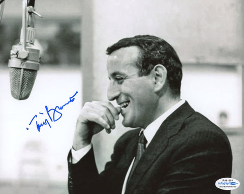Tony Bennett Autographed Signed 8x10 Photo Jazz Crooner