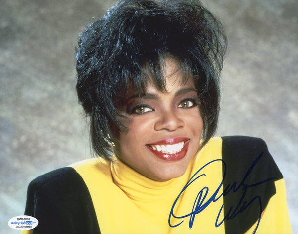 Oprah Winfrey Autographed Signed 8x10 Photo
