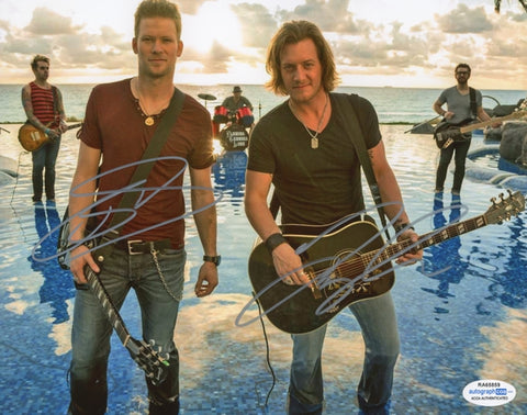 Florida Georgia Line Autographed Signed 8x10 Photo Country Music