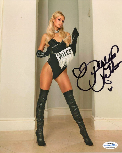Paris Hilton Autographed Signed 8x10 Photo Hot Sexy