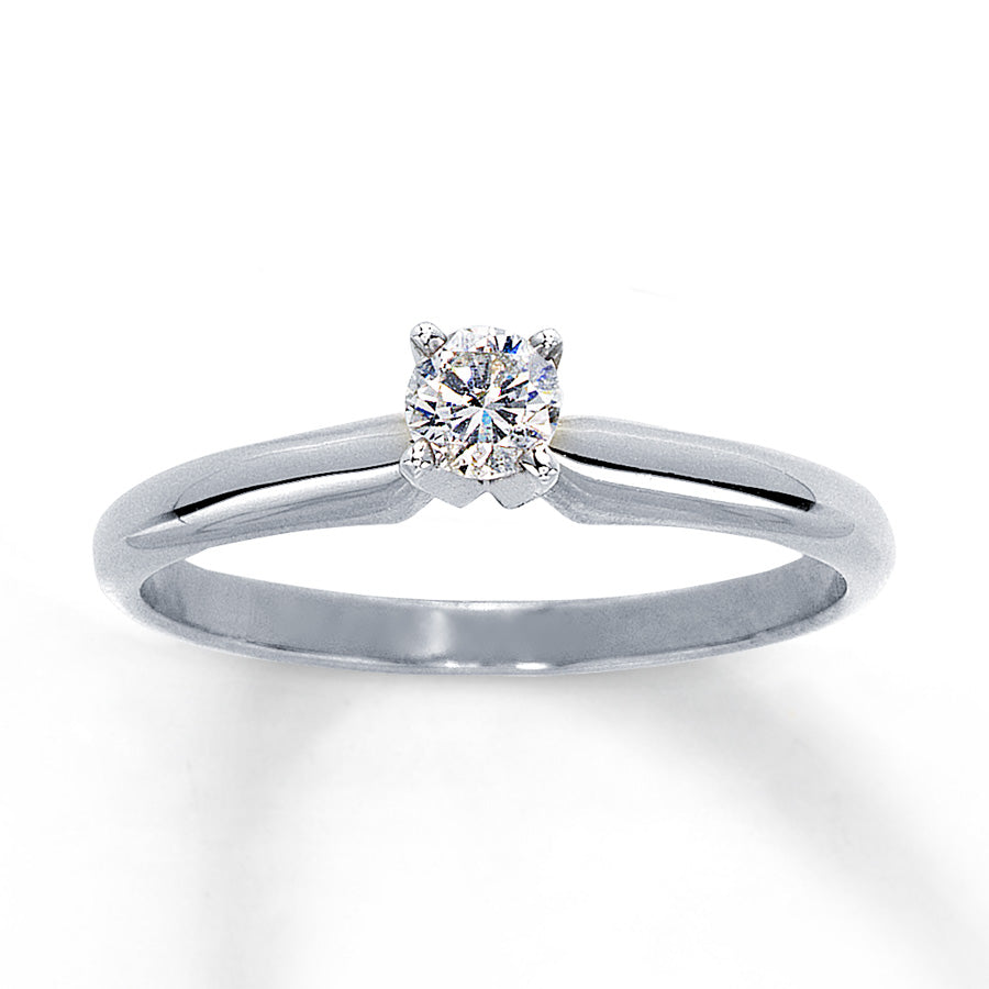 Diamond 0.19ct Round Brilliant Solitaire