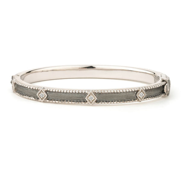 Silver Lisse Simple Kite Bangle