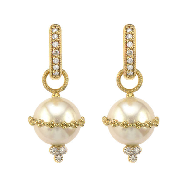 Provence Wrapped Pearl Beaded Earring Charms