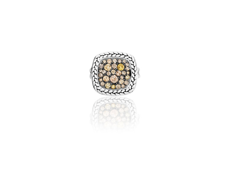 Vincent Peach Signature Diamond Ring