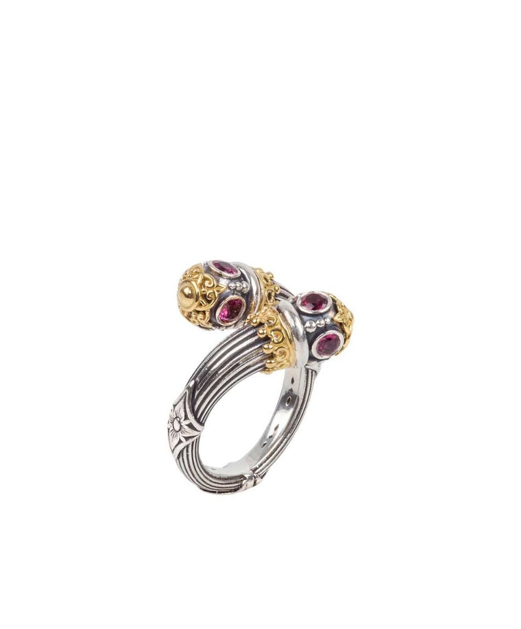 Sterling Silver & 18kt Gold Ring