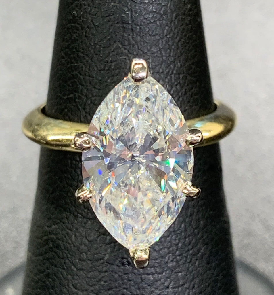 3.60CTS Marquise Solitaire