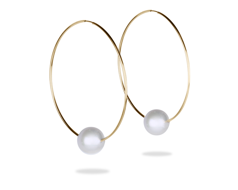 Biltmore Hoop Earrings