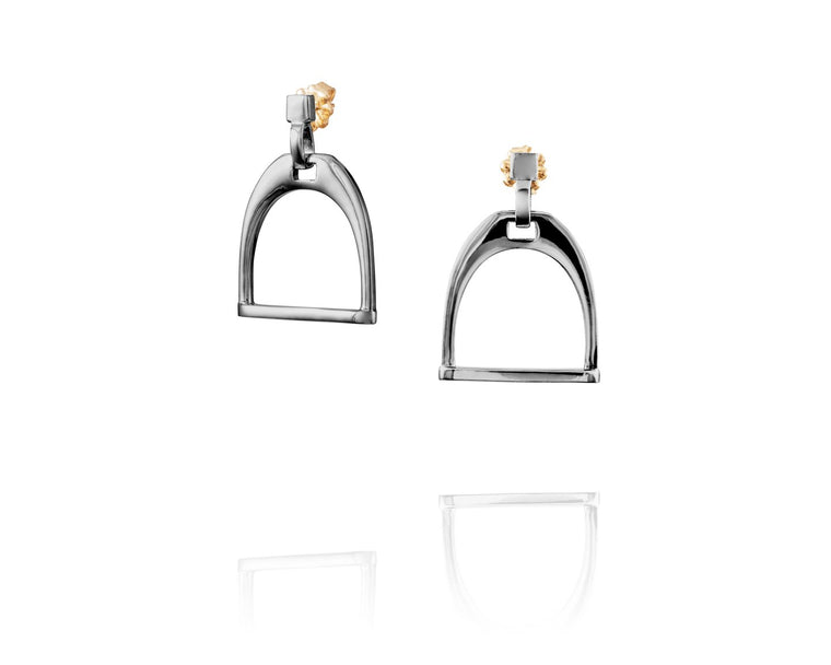 Equestrian Stirrup Earrings