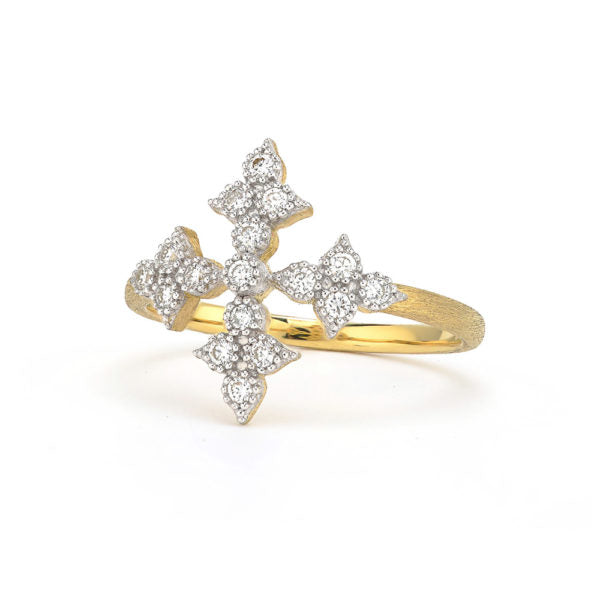 Simple Moroccan Quad Cross Ring