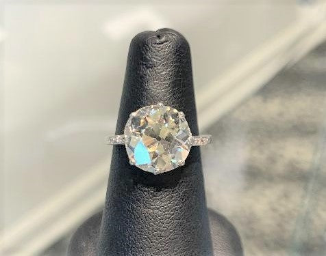 5.23CTS European Cut Ring