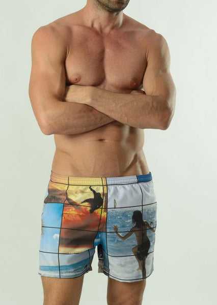 Men Swimming Shorts 1604p1